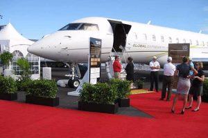 Aviation Association Event Plant Rental