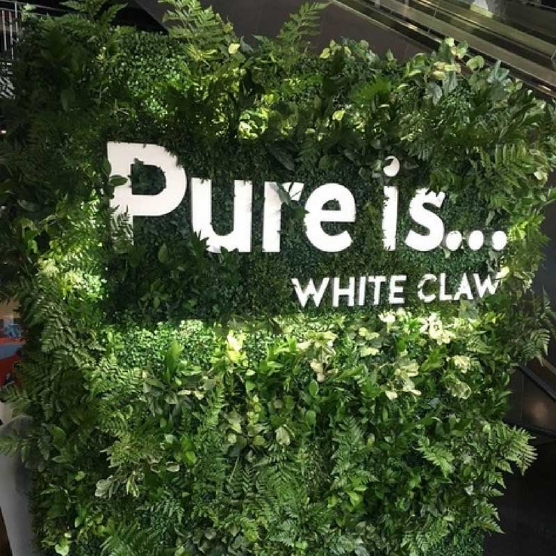 living wall experiential marketing