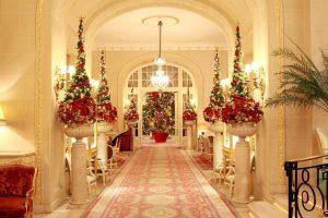 Classic Christmas Ritz Hotel