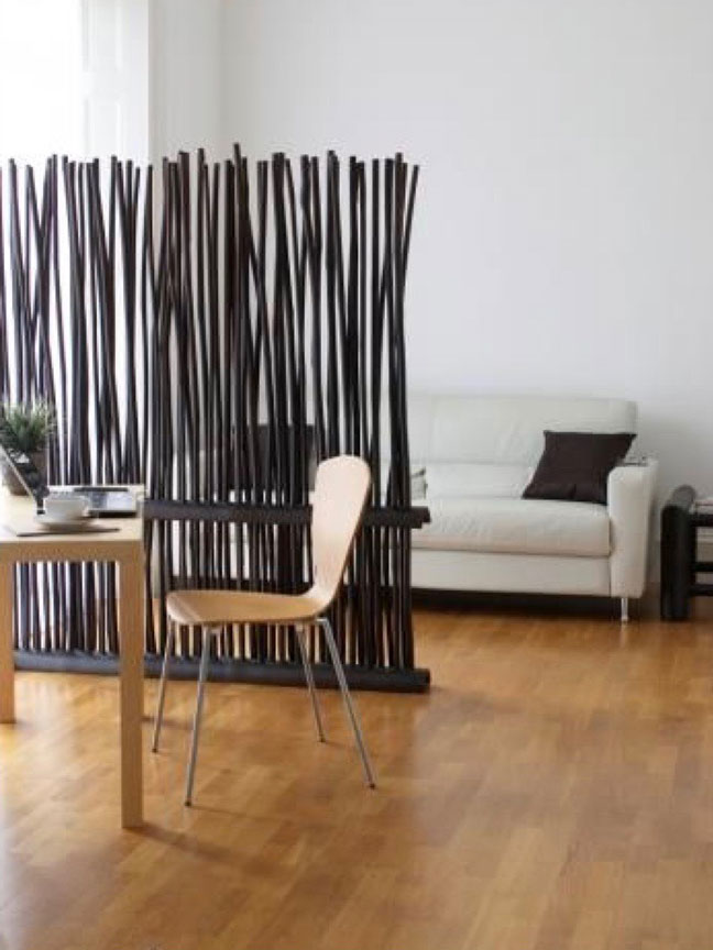 Funky wall divider