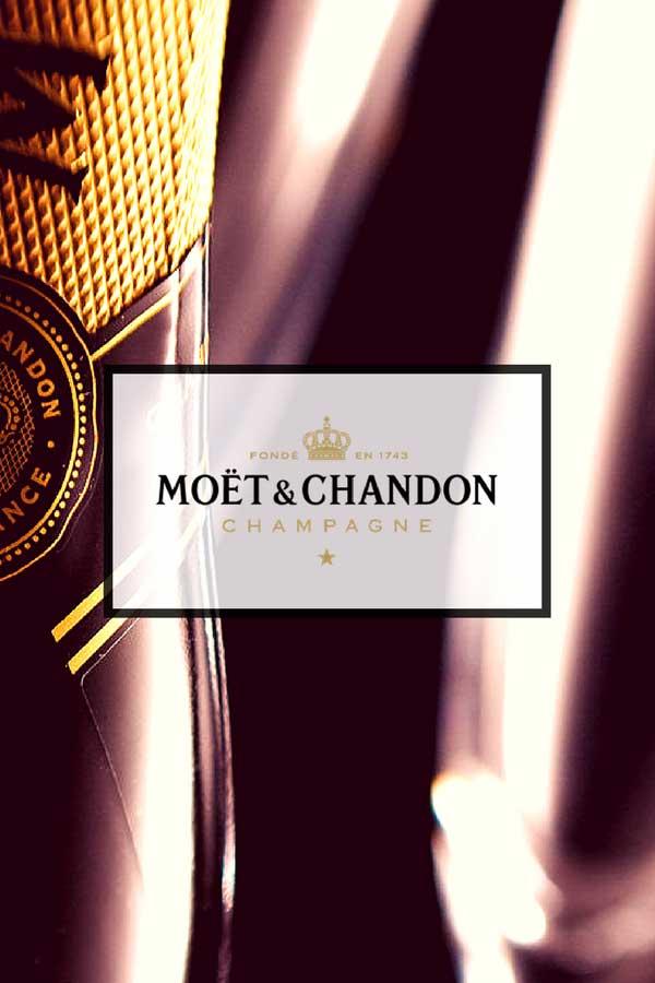 Moët & Chandon live plant rentals