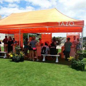 Tazo Iced Tea Tour with Live Plants